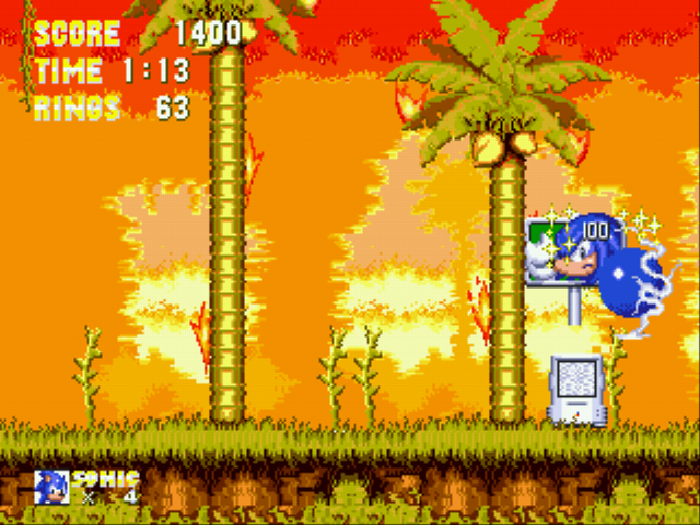Sonic the Hedgehog 3 - blue knuckles in sonic the hedgehog 3 - User Screenshot